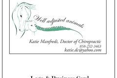 Well Adjusted Animals Logo & Business Card